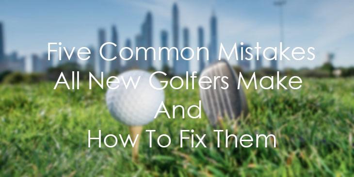 golfer mistake