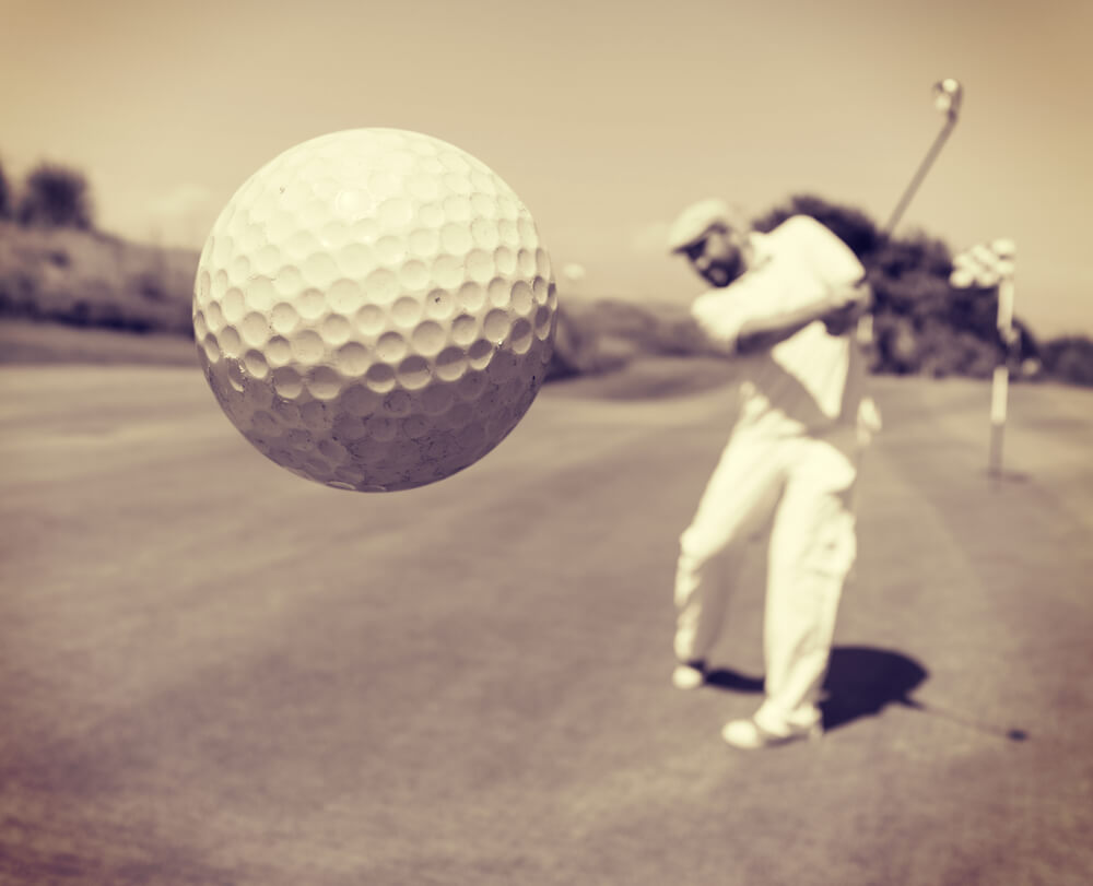 How to hit a golf ball farther