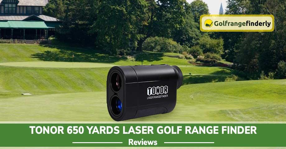 TONOR 650 Yards Laser Golf Range Finder